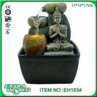 Buy cheap polyresin led light indoor hindu god ganesh water fountain from wholesalers