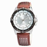 Buy cheap AMS-L012News fashion men's leather sport watch,Men's sport brown leather watch strap from wholesalers