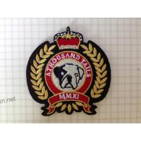 Buy cheap Custom embroidered badge from wholesalers