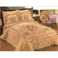 Buy cheap New Design Quilted Bedspreads/Satin/Organza/Bedspread from wholesalers