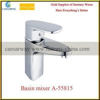 Buy cheap Single Handle Sanitary Ware Chrome Bathroom Basin Water Mixer from wholesalers