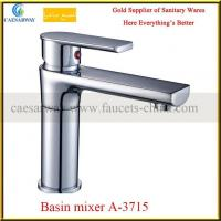 Buy cheap 360 Degree Swivel Spout Brass Basin Mixer Faucet A-41115 from wholesalers