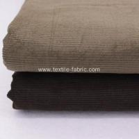 Buy cheap 8 Wale Black Corduroy Upholstery Fabric from wholesalers