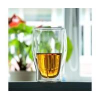 Buy cheap fashionable double wall glass cup from wholesalers