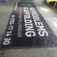 Buy cheap Hanging banner outdoor promotion advertising Double-Sided banner from wholesalers