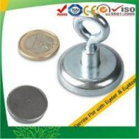 Buy cheap Sintered Hard Ferrite and Steel Eyebolt Pot Magnet from wholesalers