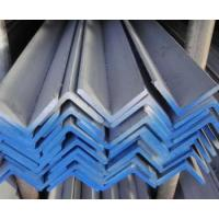 Buy cheap Hot rolled and Hot dipped ss400 Q235 galvanized steel angle from wholesalers
