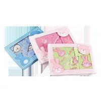 Buy cheap 300gsm terry cloth mix design 4PCS embroidered baby hood bath towel from wholesalers