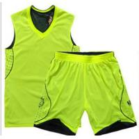 Buy cheap V-neck basketball uniform from wholesalers