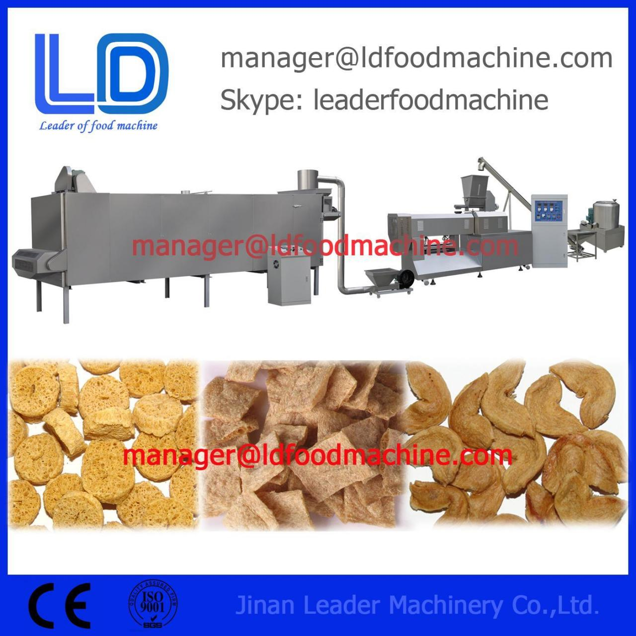 Buy cheap Multifunction Automatic Line Soya Extruding TVP TSP Making Machine Food Extruder Industial Supplies from wholesalers