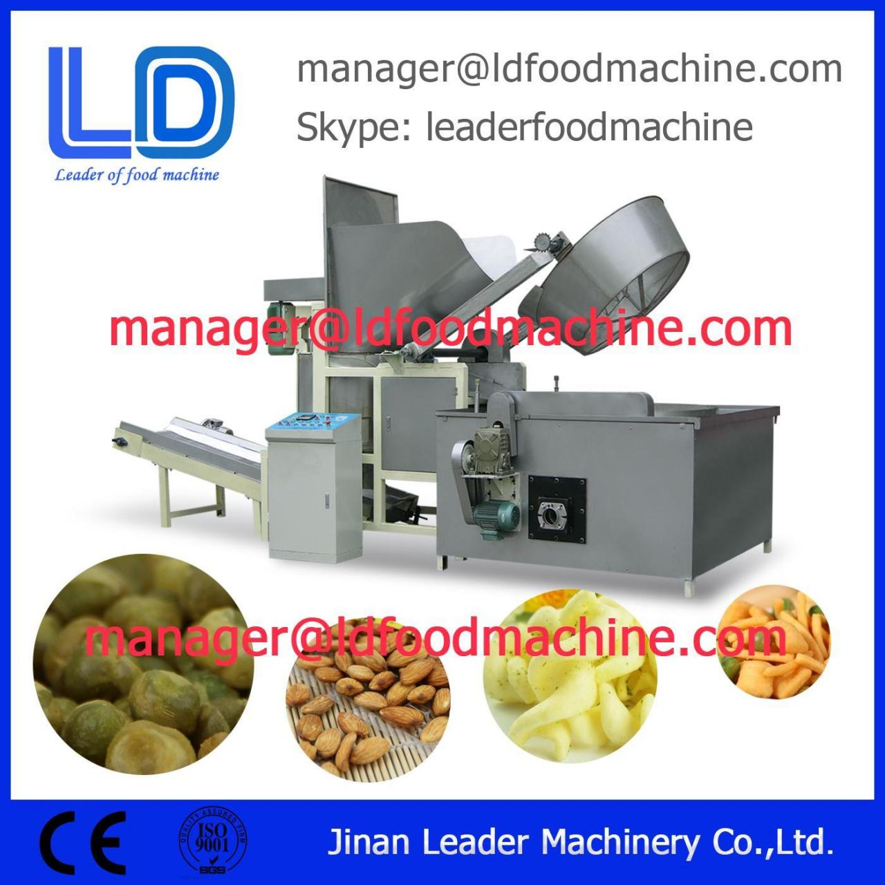 Buy cheap French Fries Snacks Flavoring Machine Potato Chips Food Frying Machine for Snacks from wholesalers