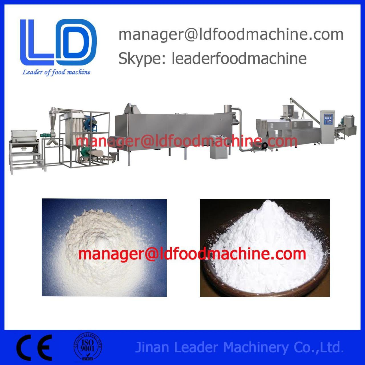 Buy cheap Screw Self-cleaning Modified Starch Machine Manufacturer from wholesalers