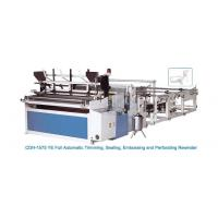Buy cheap CDH-1575 YE Full Automatic Trimming, Sealing, Embossing & Perforating Rewinder from wholesalers