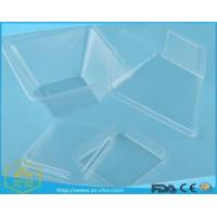 Buy cheap High quality safety clear PET disposable plastic salad bowl from wholesalers