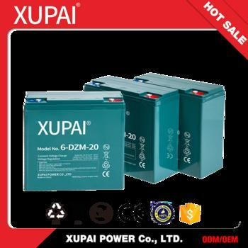Buy cheap 6-DZM-20 Rechargeable Ebike Scooter Battery with CE/ISO Certificated 12v 20ah from wholesalers