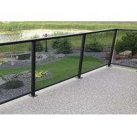 Buy cheap Low Iron Frameless Laminated Tempered Glass Railings For Balconys from wholesalers