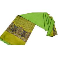 Buy cheap Double-Layer Screen Print Long Silk Scarf Wholesale China from wholesalers