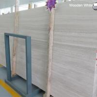 Buy cheap Polished White Serperggiante Or Natural Wooden Marble Floor Tile Design from wholesalers