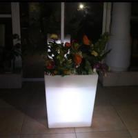 Buy cheap Y-POT Large Square Flash LED Flower Pot from wholesalers