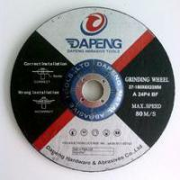 Buy cheap cutting and grinding wheels for grinding steel from wholesalers