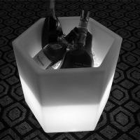 Buy cheap H43 Square Champagne Cooler LED Ice Bucket from wholesalers