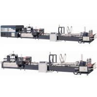 Buy cheap Automatic Corrugated Carton Folder Gluer & Strapping Machine from wholesalers