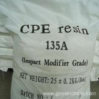 Buy cheap Chemical industry grade chlorinated polyethylene chemical cpe 135 for sale product