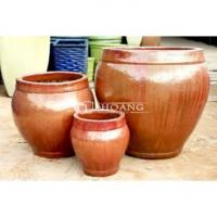 Buy cheap Vietnam Large Outdoor Glazed Ceramic Pot from wholesalers