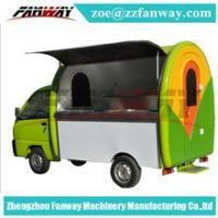 Buy cheap Chinese mobile fast food vending van, ice cream food cart/truck from wholesalers