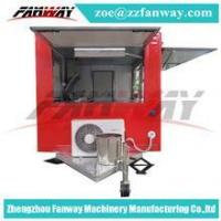 Buy cheap fast food mobile kitchen trailer,mobile food kiosk catering trailer from wholesalers