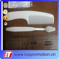Buy cheap hotel plastic hair comb set cheap custom disposable comb wholesale from wholesalers