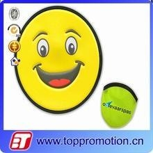 Buy cheap promotion custom nylon foldable frisbee with poncho cheap frisbee wholesale from wholesalers