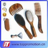 Buy cheap custom wooden hairbrush set custom hair comb set wholesale from wholesalers
