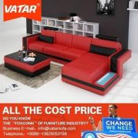 Buy cheap VATAR elegant design bonded leather sofas from wholesalers