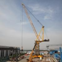 Buy cheap LTC6037-16 Big High Efficiency luffing jib tower crane from wholesalers