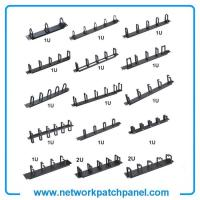 Buy cheap 1U 2U Network Server Cable Management Rings Racks Bars Brackets from wholesalers