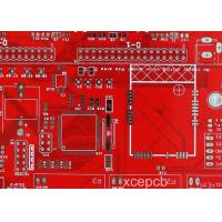 Buy cheap Red Soldermask 14 Multilayer Electronic PCB Board Dielectric Constant 2.2 Thickness 30mil from wholesalers