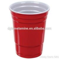 Buy cheap 2016 Best Selling Red & White 100% Melamine Cups For Party,hot Popular In The USA from wholesalers