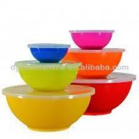 Buy cheap New Design Melamine Salad Bowl Set With Lid product