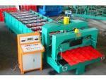 Buy cheap 828/1035-207-28 Circular Arc Glazed Metal Roof Tile Roll Forming Machine from wholesalers