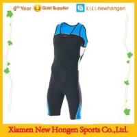 Buy cheap triathlon clothing tri cycling one piece suit from wholesalers