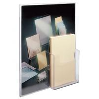Buy cheap 596301 Wall Mount Sign Holder with 4 Front Pocket (Portrait) 8.5x11 Clear (Top Load) from wholesalers