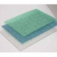 Buy cheap UV Protected Polycarbonate Embossed Sheet product