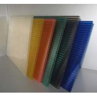 Buy cheap Polycarbonate Hollow Sheet 8mm UV-Protected Twin-Wall Polycarbonate Sheet from wholesalers