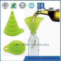 Buy cheap Factory Direct Sales Food Grade Silicone Rubber Funnel from wholesalers