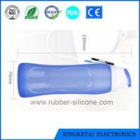 Buy cheap Durable Leak Proof High Quality Food Grade Silicone Water Bottle from wholesalers