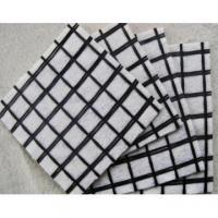 Buy cheap Composite Coated Fiberglass Geogrid With Nonwoven Geotextile from wholesalers