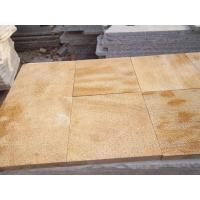 Buy cheap Golden yellow sandstone product