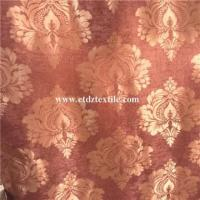 Buy cheap Fleece Large Jacquard Blackout Window Curtain from wholesalers