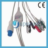 Buy cheap S&W Artema One Piece ECG Cable 5 lead wires from wholesalers